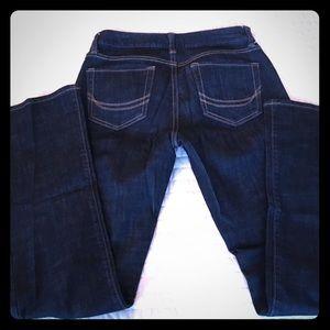 Dark wash Old Navy bootcut dreamer jean size 2